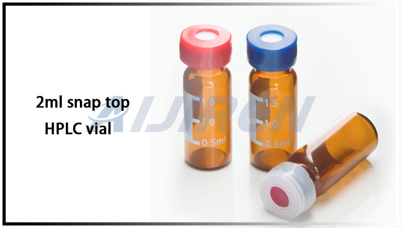 2ml 11mm Snap Top HPLC Vials for Agilent