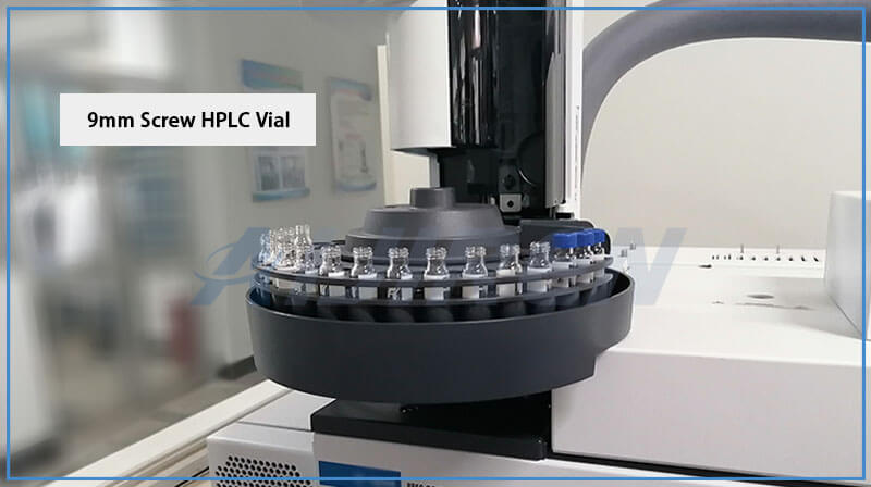 ND9 Screw HPLC Autosampler Vials for Agilent