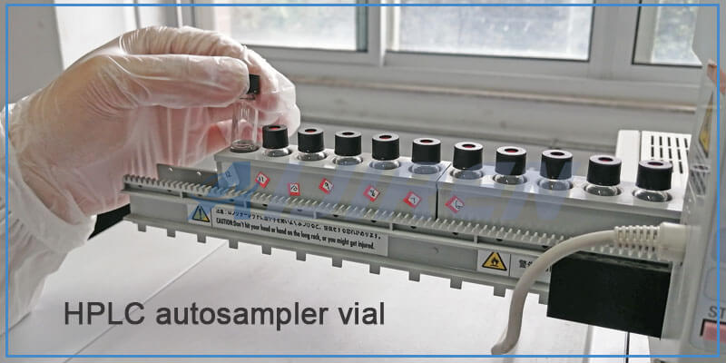 9mm Screw HPLC Autosampler Vials for Agilent