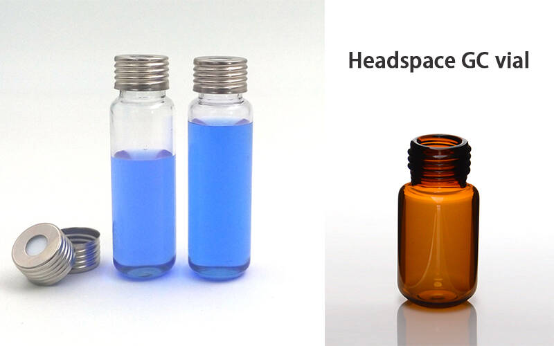 20ml headspace vial10-20ml Screw Headspace Vial  for Agilent