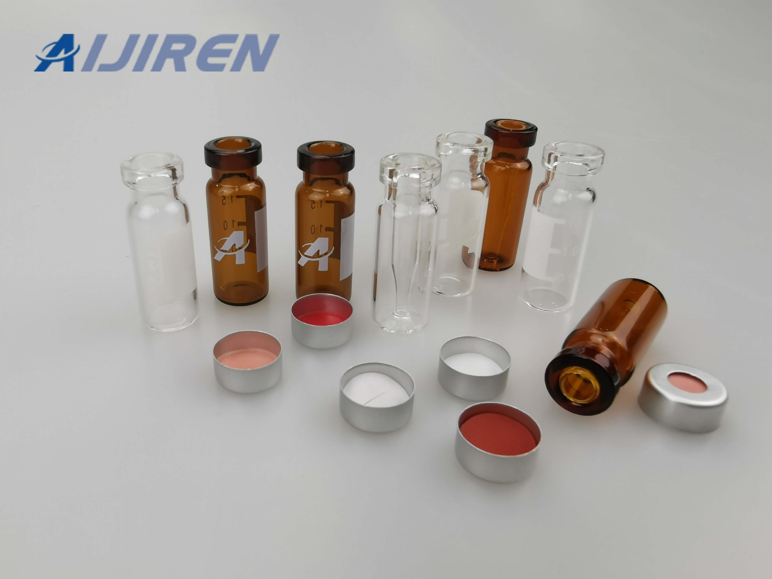 2ml HPLC Crimp Top Glass Vial for THERMO FISHER