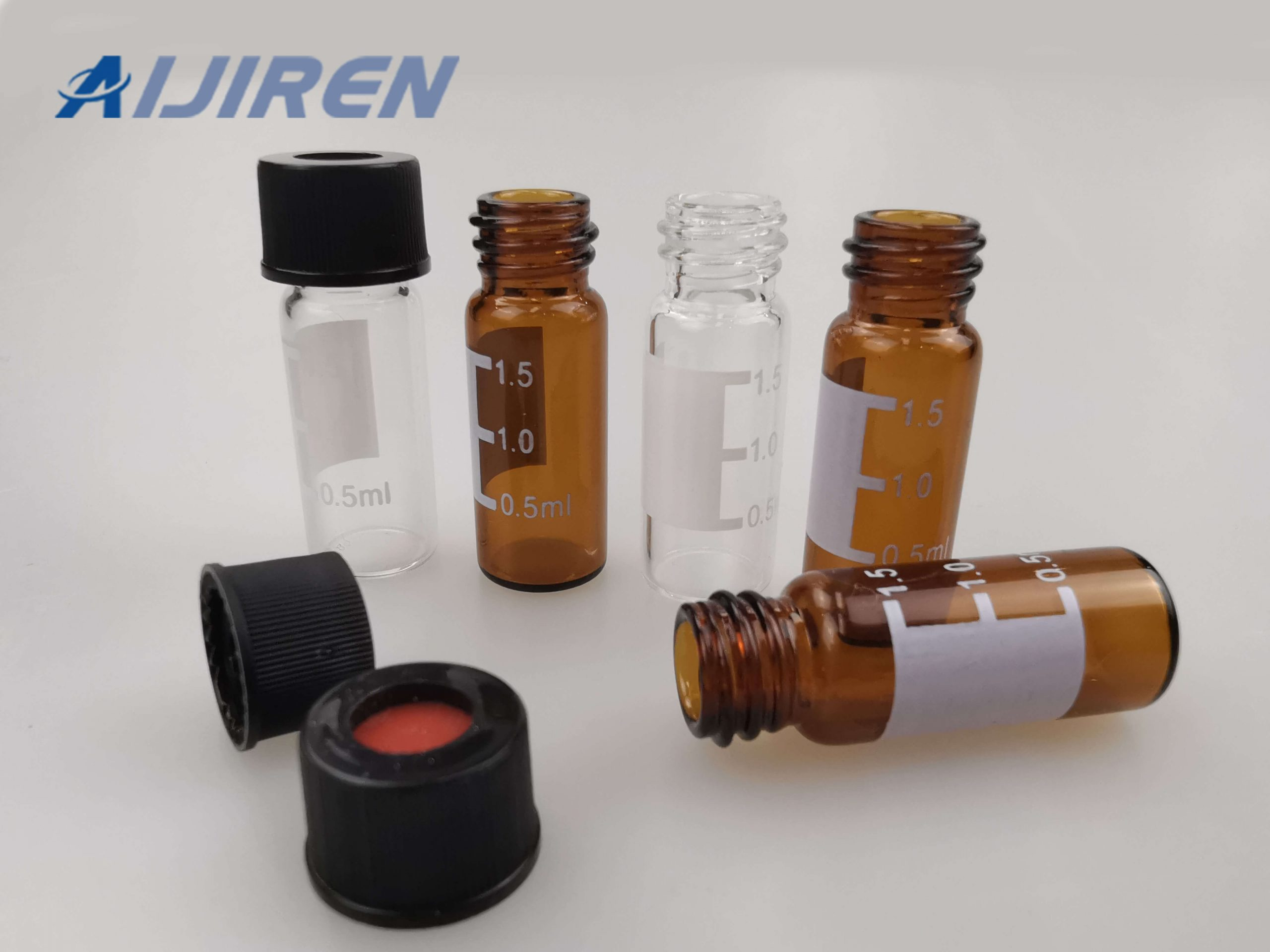 20ml headspace vial8-425 HPLC Glass Vials with Caps for WATERS