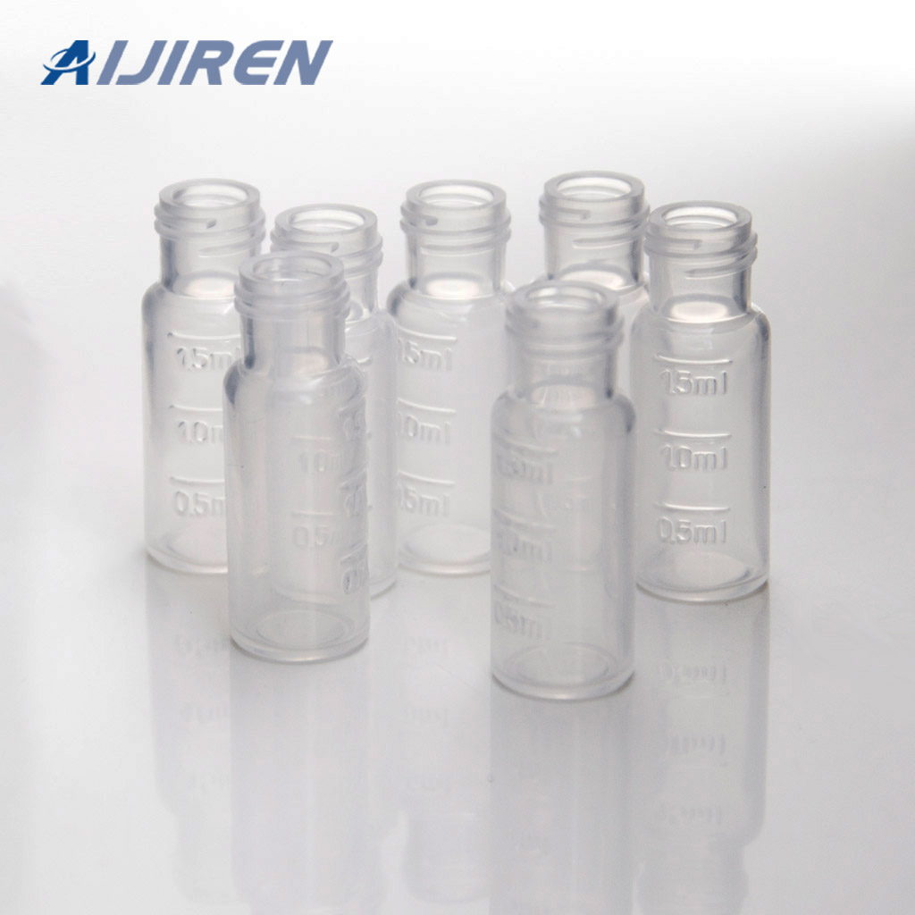 2ml Screw Top Clear PP Vials for HPLC