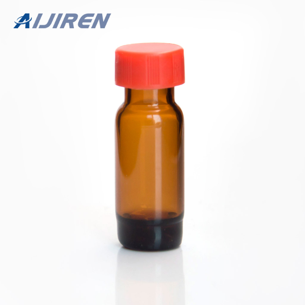 9mm Screw Top Amber Glass High Recycling Vials