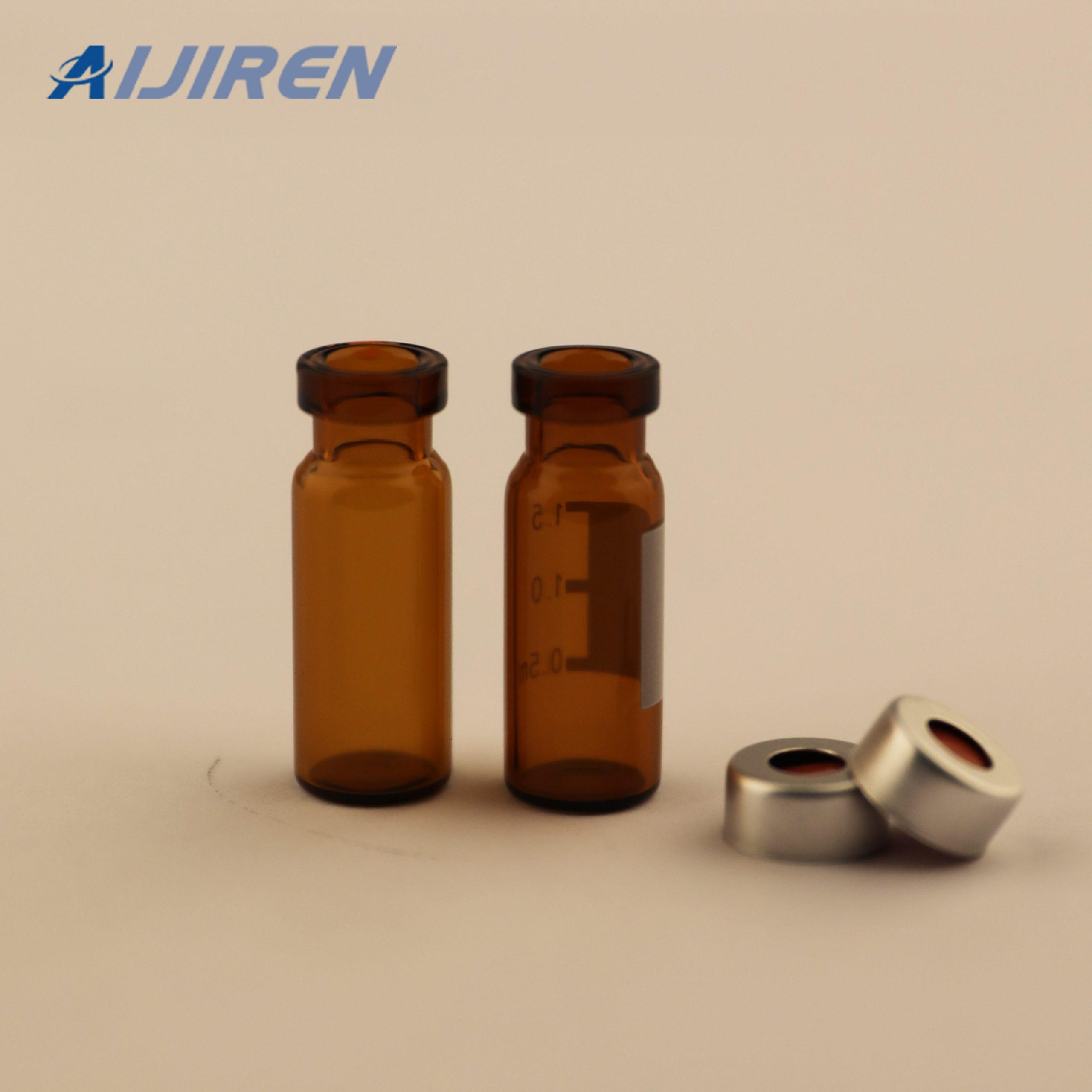 20ml headspace vial11mm Amber Crimp Top HPLC Vials