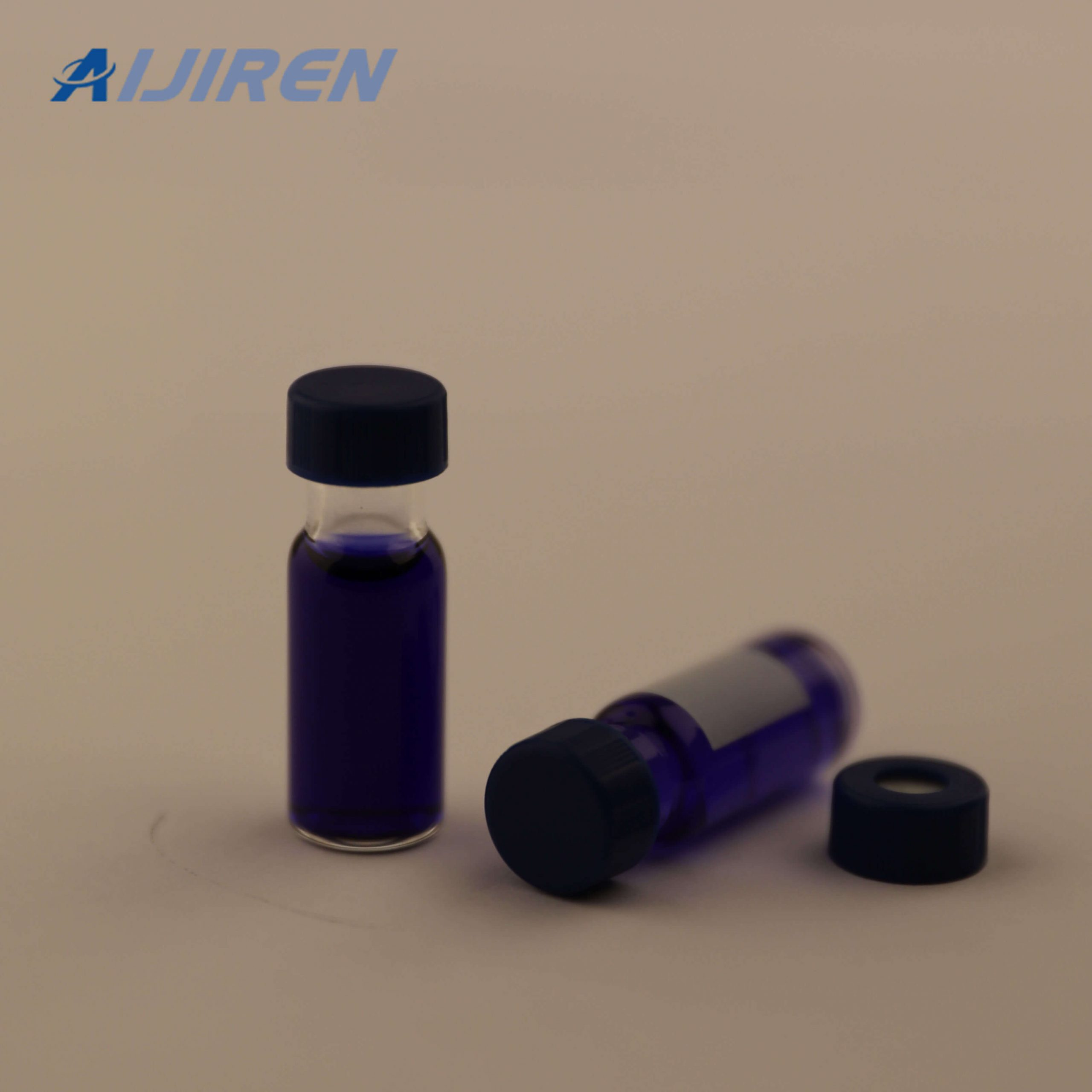 9mm 2ml Glass Vials with Lable area for Agilent