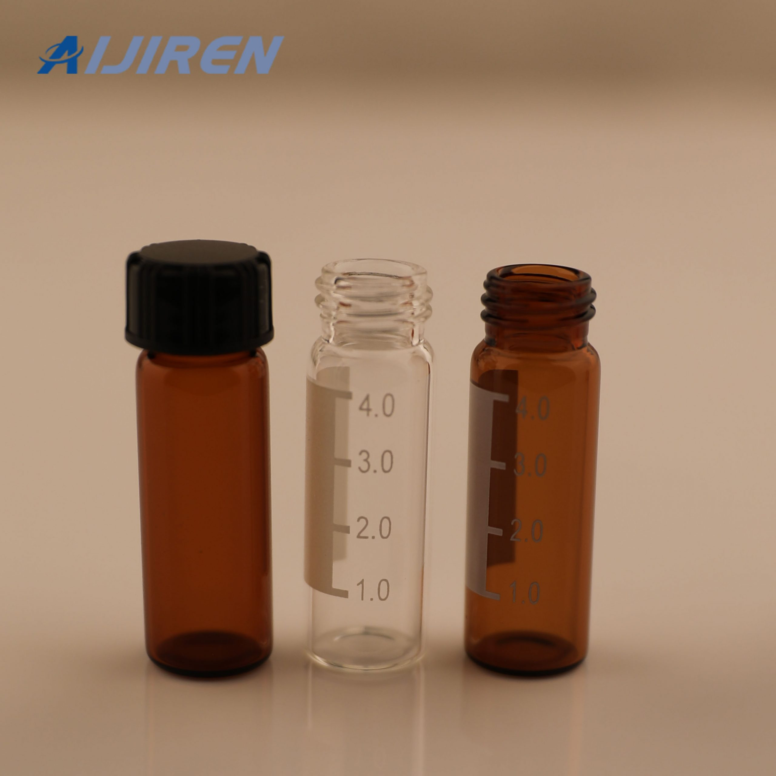 20ml headspace vial4ml Amber Glass Screw Thread Vial for SHIMADZU