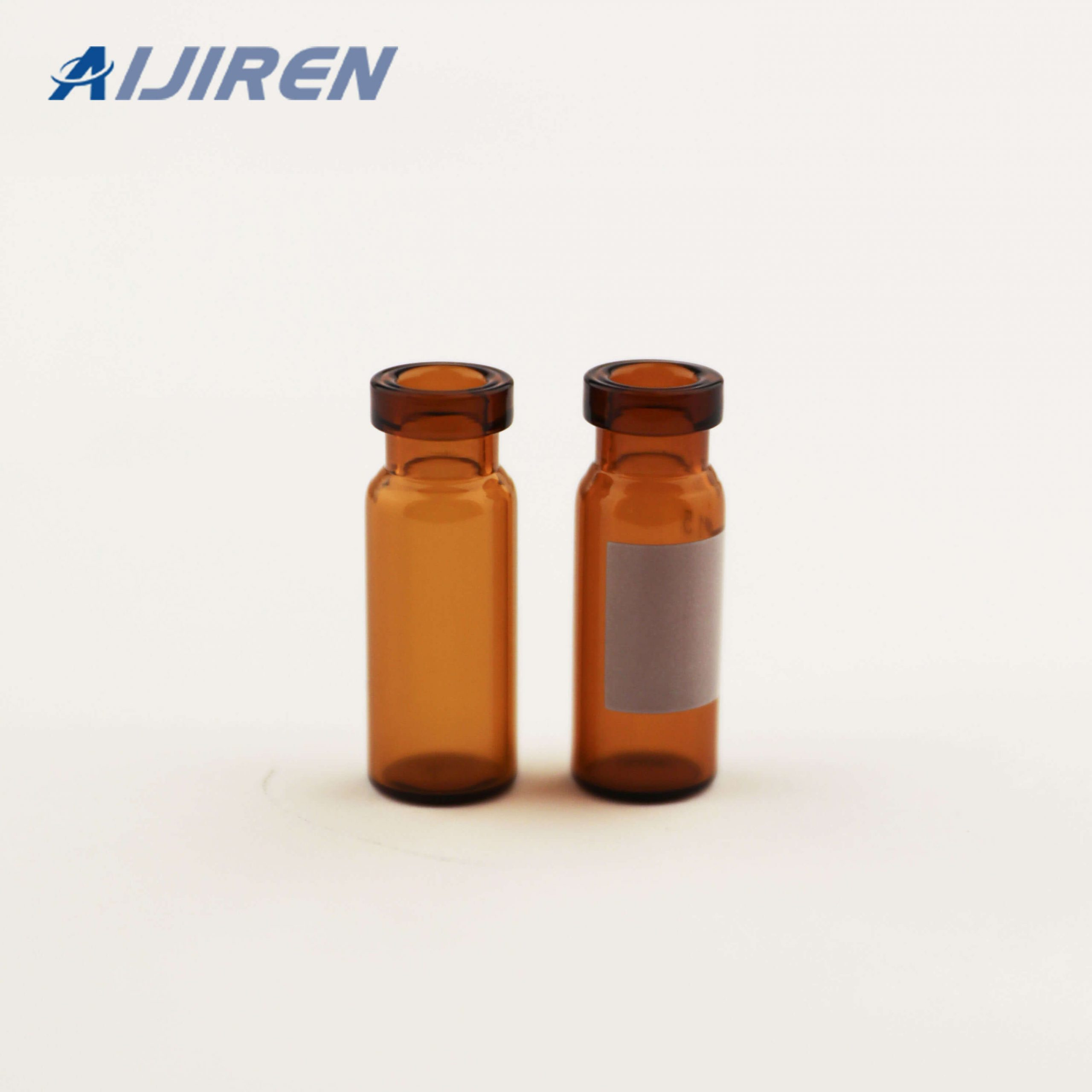 11mm Crimp Ring Amber Glass Vials for THERMO FISHER