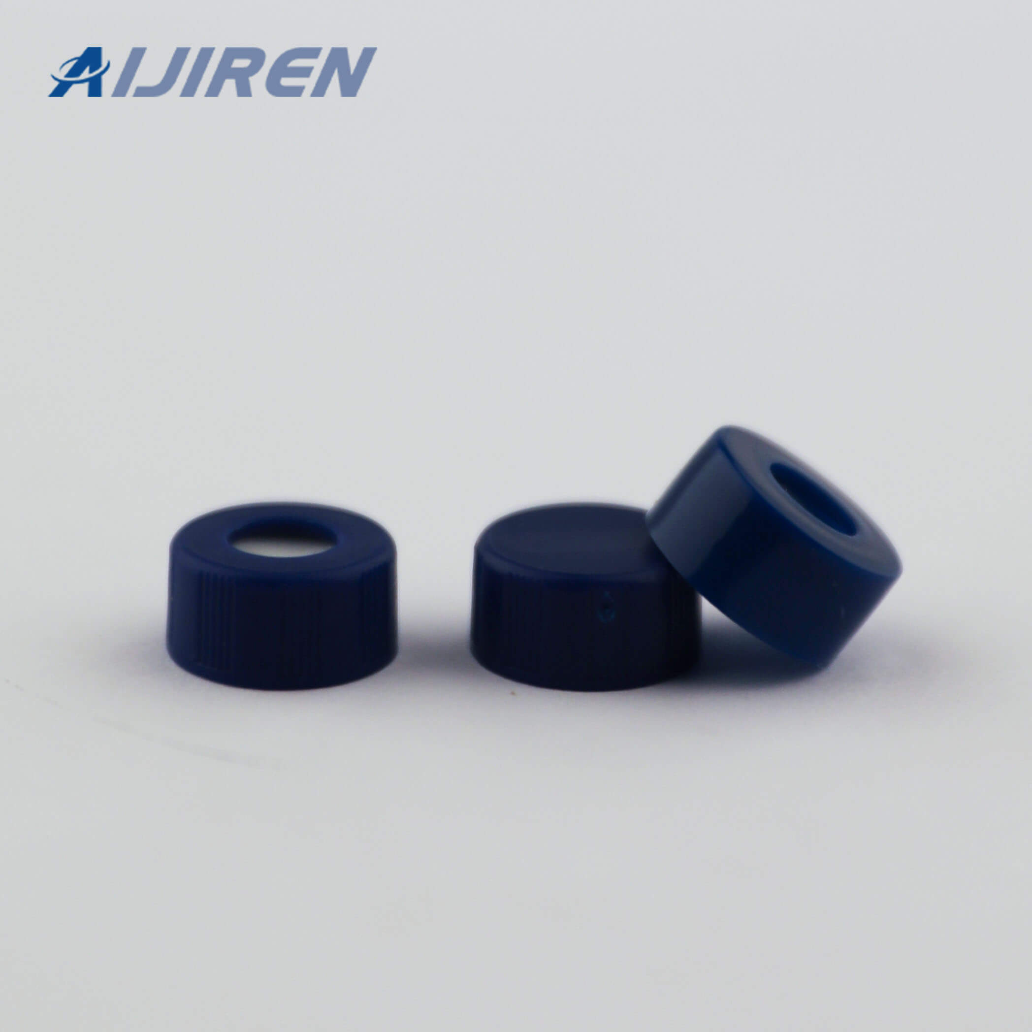9mm PP Screw Cap with 6mm Center Hole for THERMO FISHER