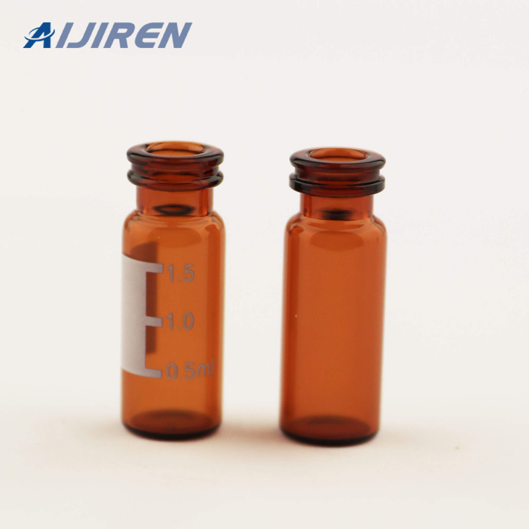 Amber Snap Top Glass Vial for WATERS