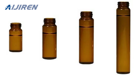Amber Glass Storage Vial for Lab Test