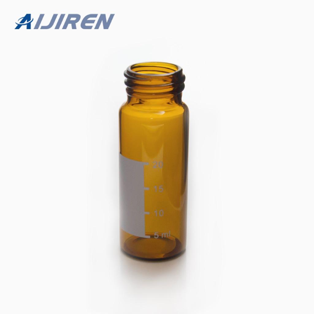 30ml Amber Glass Sample Storage Vial
