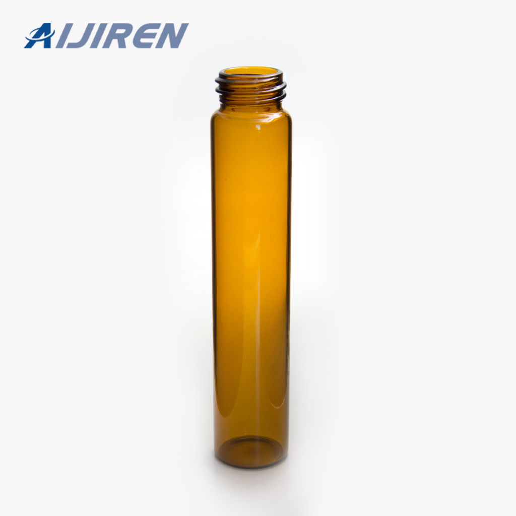 Amber Glass Screw Neck Sample Storage Vial