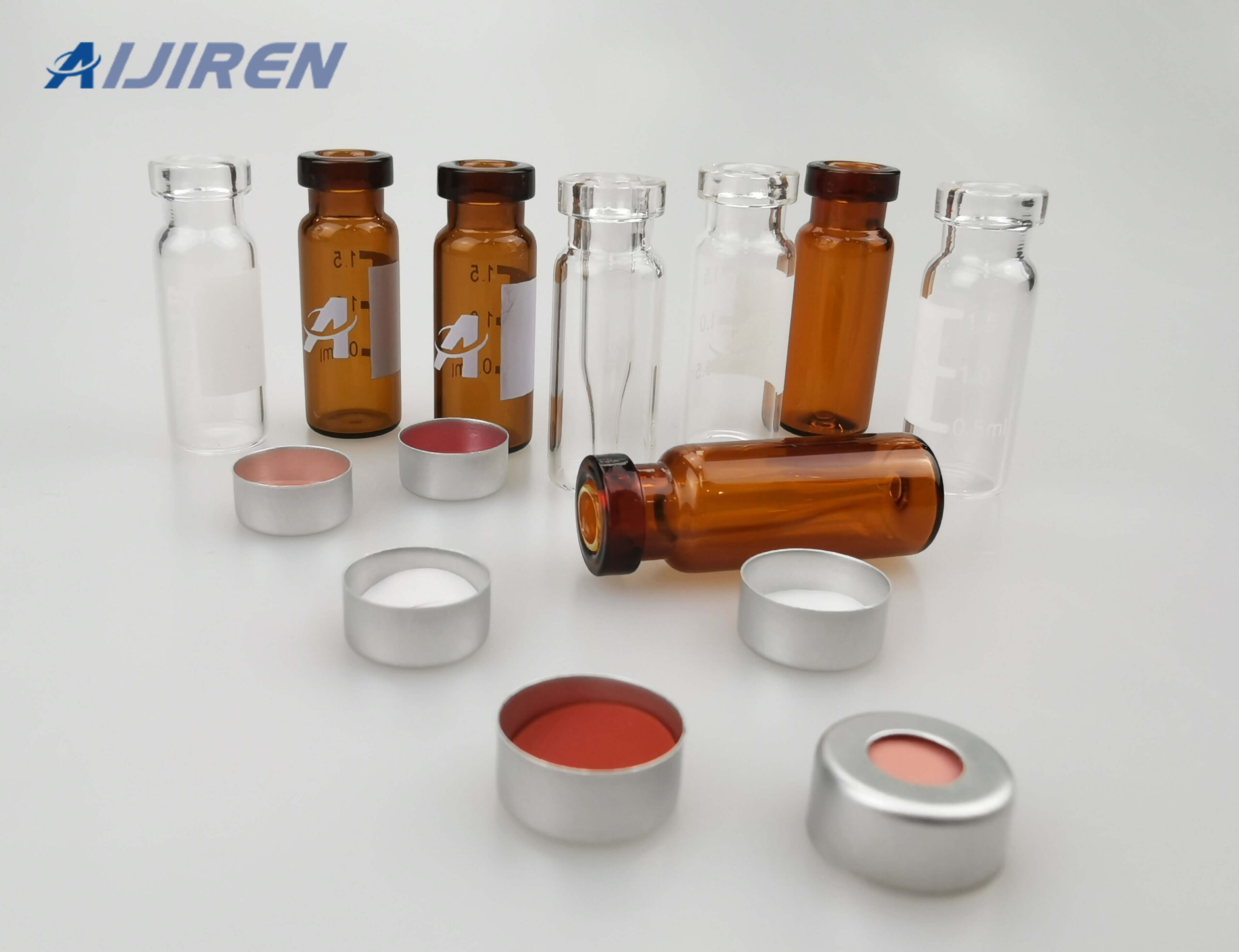 11mm Crimp Top Vial with Micro-insert on Sale