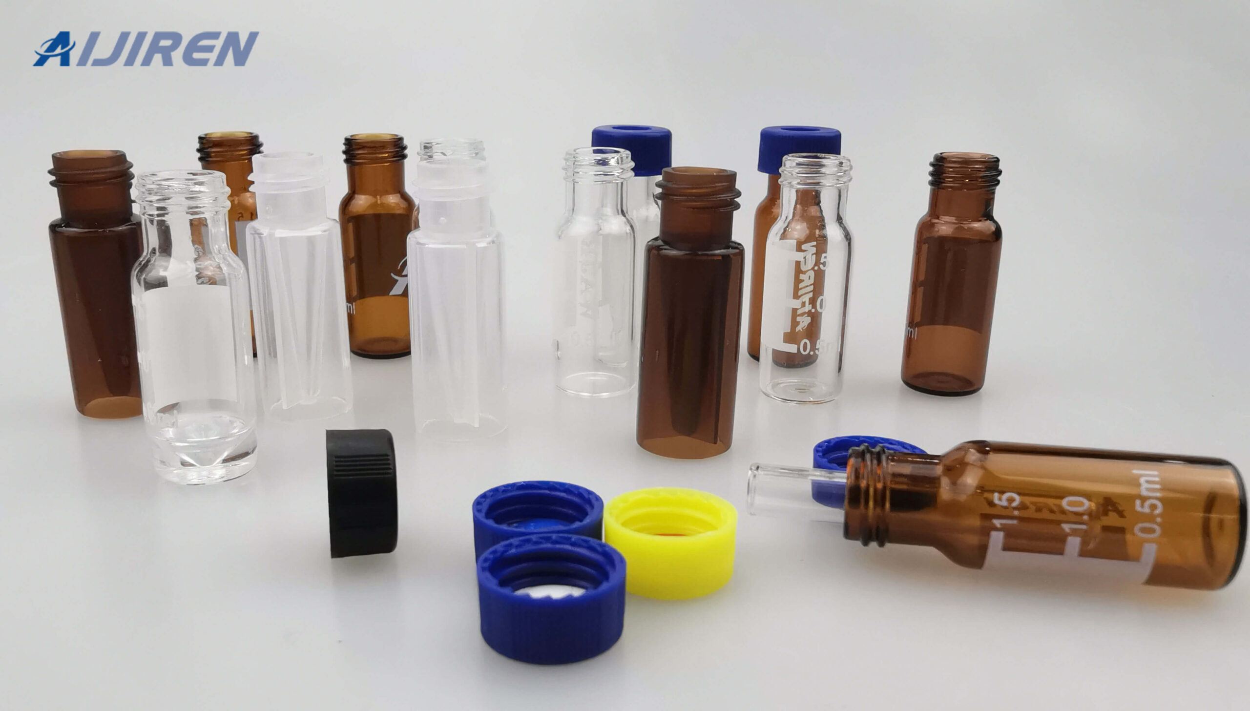 20ml headspace vial9mm Screw Neck PP Cap with Vial on Sale