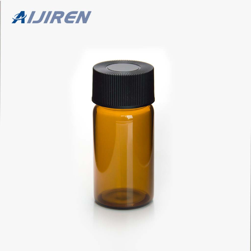 Amber Glass Sample Vial with Cap