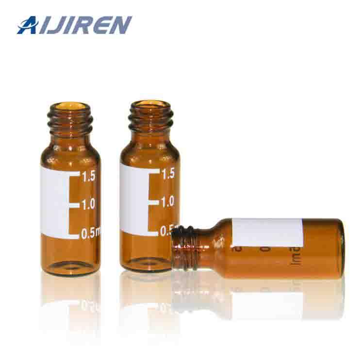 2ml 9mm Screw Thread Amber Vial
