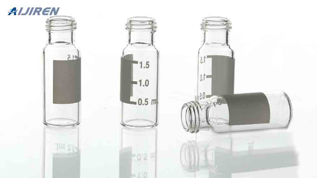 2ml Clear Glass Vial with Label Area