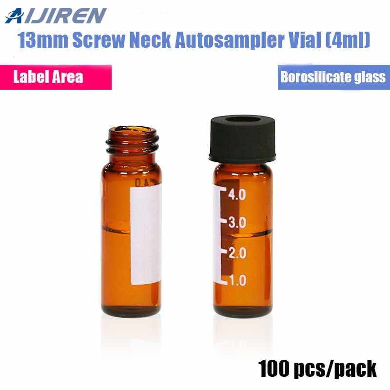 4ml Amber Glass HPLC Vial