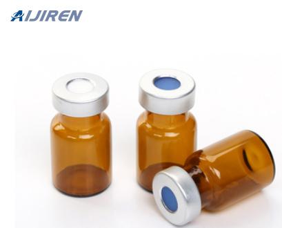 20ml headspace vial20mm Crimp Top Amber Glass Vial