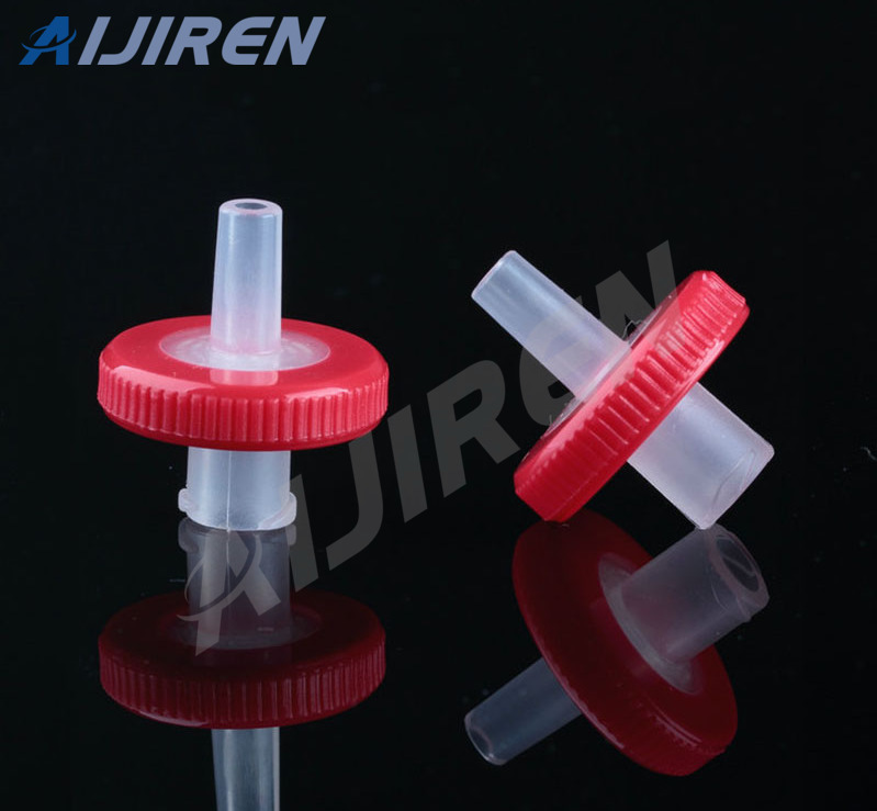 20ml headspace vial13mm Red Syringe Filter