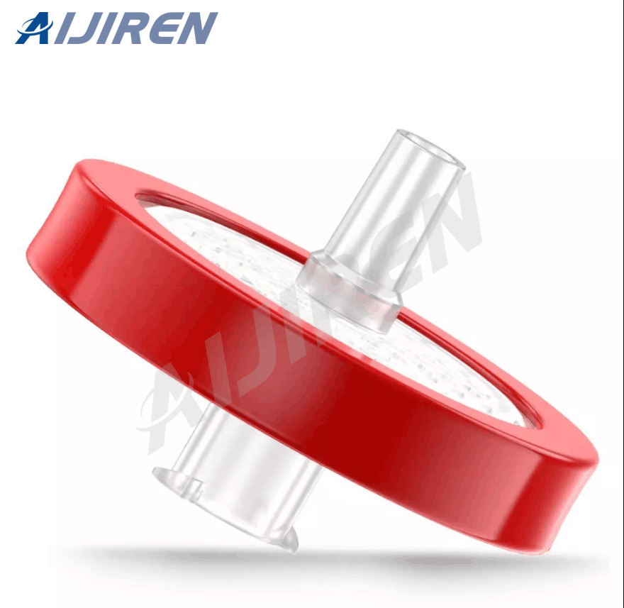 20ml headspace vial0.22 PTFE Red Syringe Filter