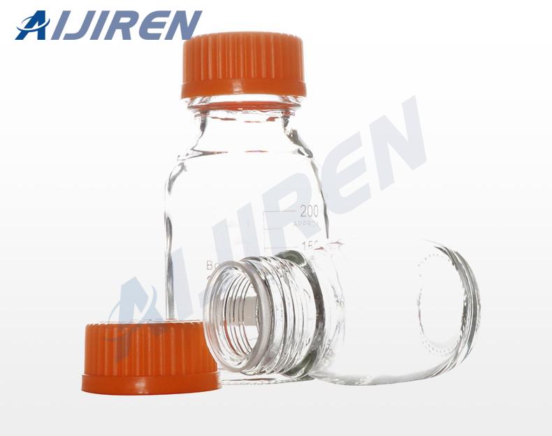 Orange Cap Reagent Bottle