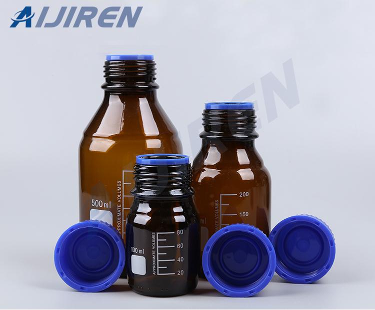 20ml headspace vialGl45 Screw Neck Amber Reagent Bottle