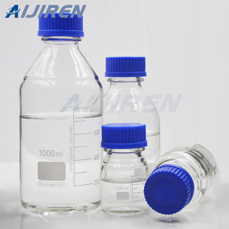 Clear Glass Wide Opening Reagent Bottle