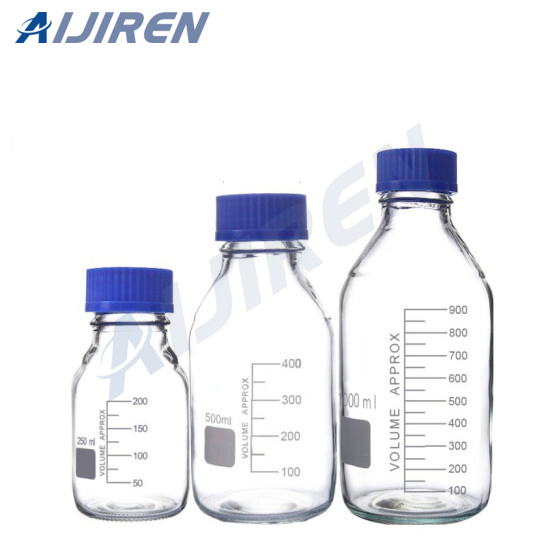 Gl45 Clear Reagent Bottle With Closures
