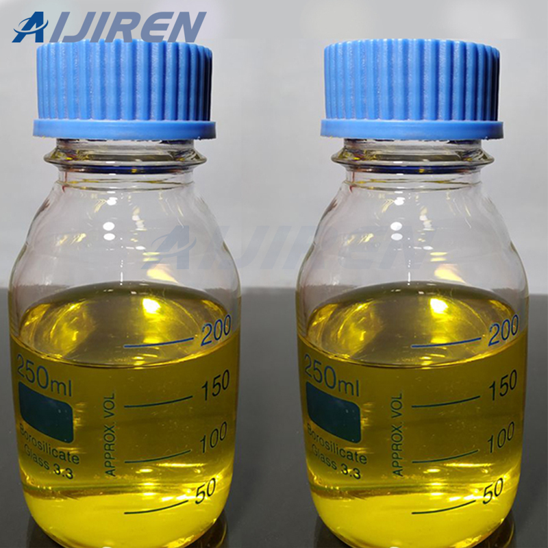 Clear Glass Reagent Bottle With Reagent