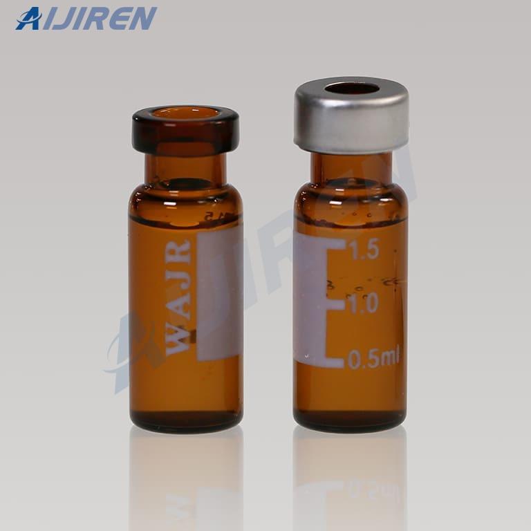 Crimp Top Amber Vial