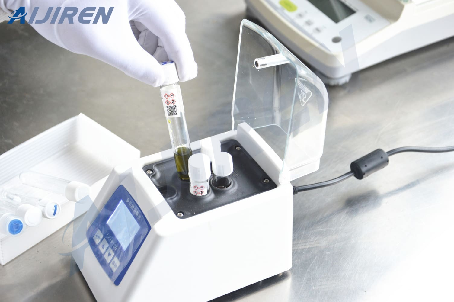 20ml headspace vialAijiren's COD Test Tubes are Used in Multifunctional Digestion Instrument