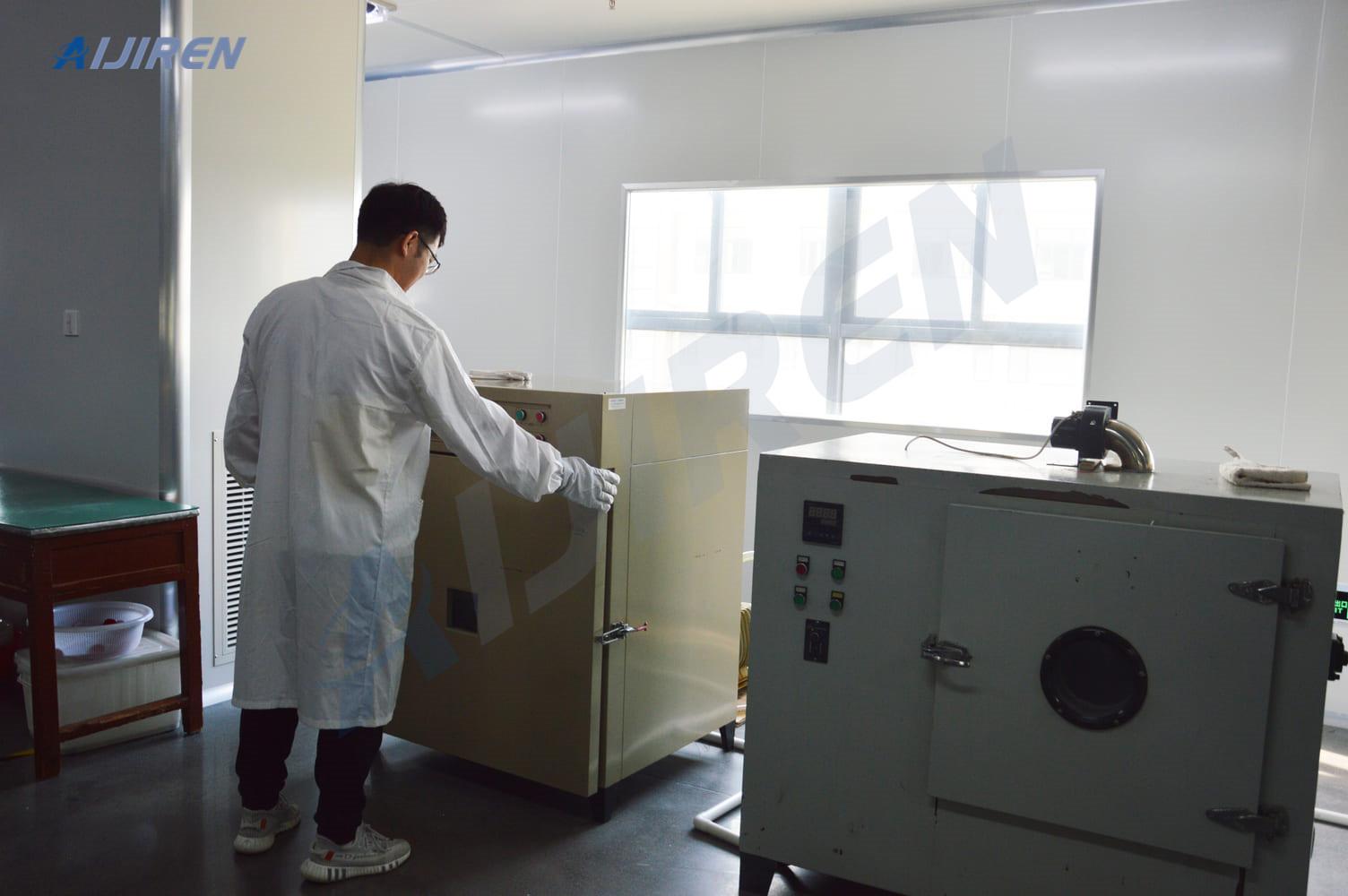 20ml headspace vialSepta of Autosampler Vial is Drying