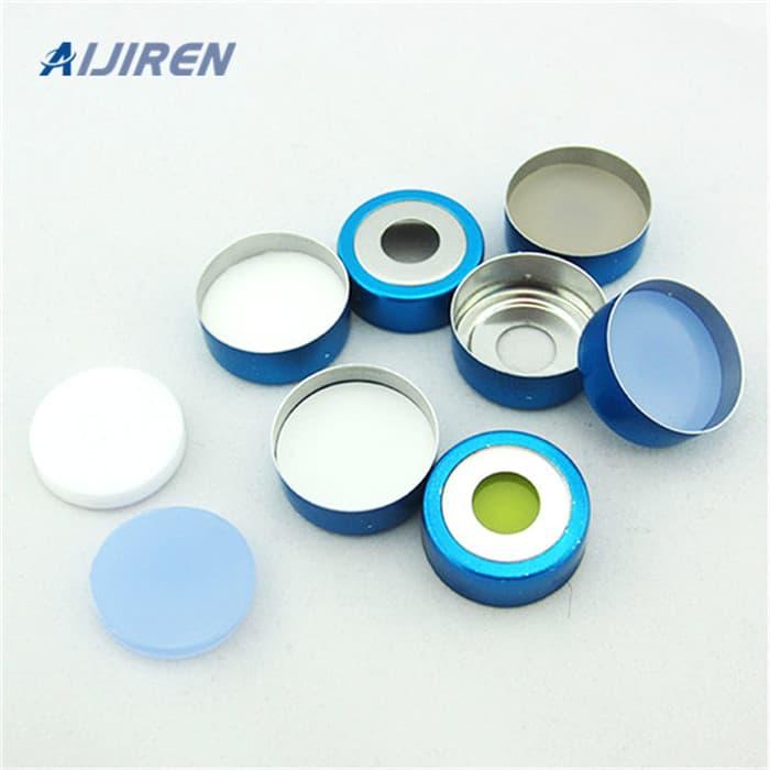 20ml headspace vial20mm Crimp-top Blue Magnetic Aluminum Cap